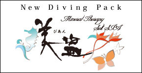 Esthetic+Mineral therapy spa+Diving Valuable pack